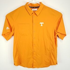 Tennessee Vols Logo Mens Adidas Button Front Shirt